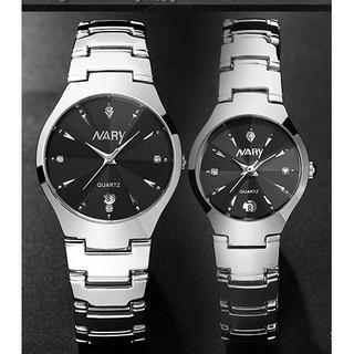 Đồng hồ nữ nam Nary dây thép chống nước SP256 thumbnail