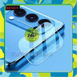 Cường lực nano bảo vệ camera Oppo Reno5 / Reno 5 5G / Reno5 pro khoét lỗ