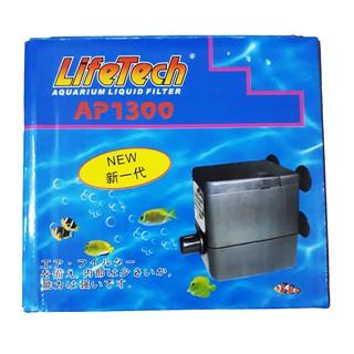 Máy Bơm Nước Hồ Cá LifeTech AP1300 - Máy Bơm Nước Bể Cá Cao Cấp thumbnail