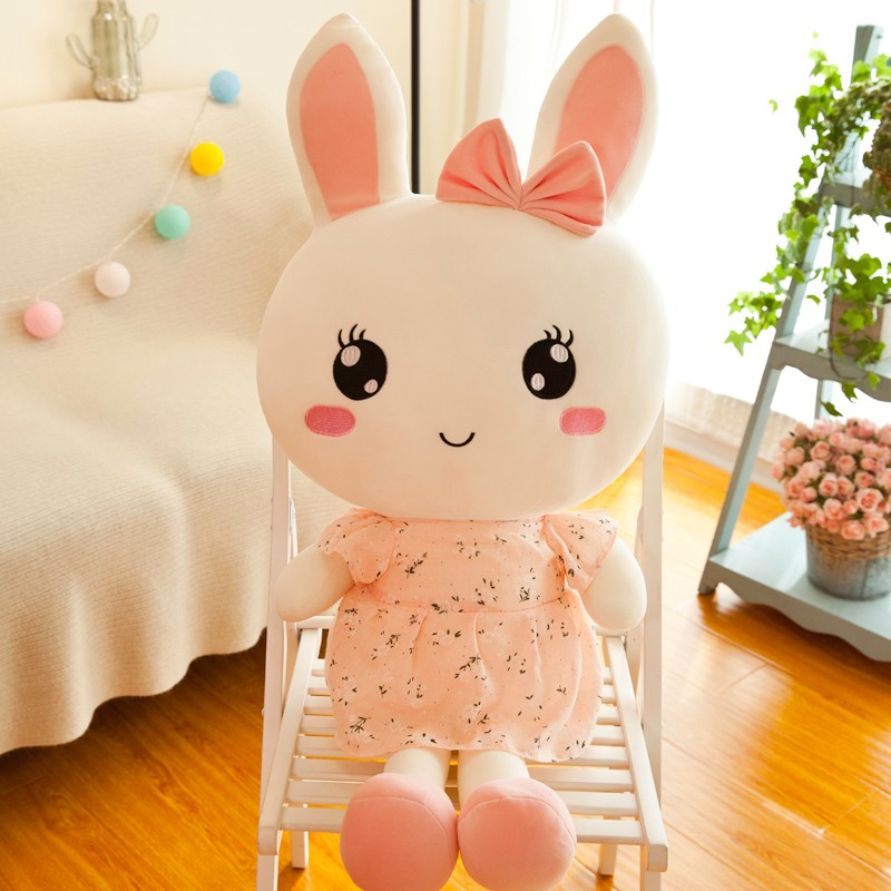 gấu bông dễ thương hình thỏ êm ái