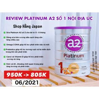 [ CHUẨN BILL ] Sữa A2 Platinum Úc cho bé từ sơ sinh trở lên hộp 900g nội địa ÚC HSD 26 02 2022 thumbnail