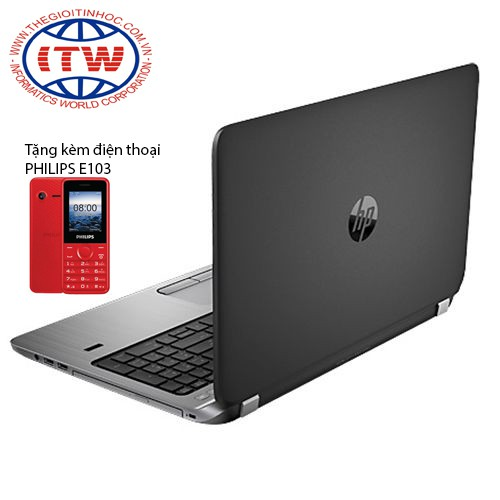 Laptop HP ProBook 450 G3 X4K52PA (Xám) - Tặng kèm điện thoại PHILIPS E103 - 2581441 , 591908249 , 322_591908249 , 15390000 , Laptop-HP-ProBook-450-G3-X4K52PA-Xam-Tang-kem-dien-thoai-PHILIPS-E103-322_591908249 , shopee.vn , Laptop HP ProBook 450 G3 X4K52PA (Xám) - Tặng kèm điện thoại PHILIPS E103