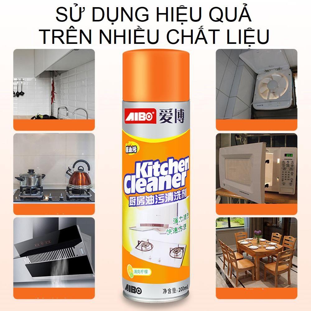 Bình xịt tẩy rửa nhà bếp đa năng Kitchen Cleaner - Chai xịt vệ ...
