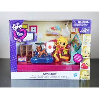 Set búp bê APPLEJACK chủ đề Buổi tiệc ngủ - MY LITTLE PONY Minis Doll Playset thumbnail
