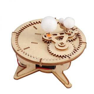 Bộ đồ chơi tự làm hành tinh chuyển động bằng gỗ – DIY Wood Steam