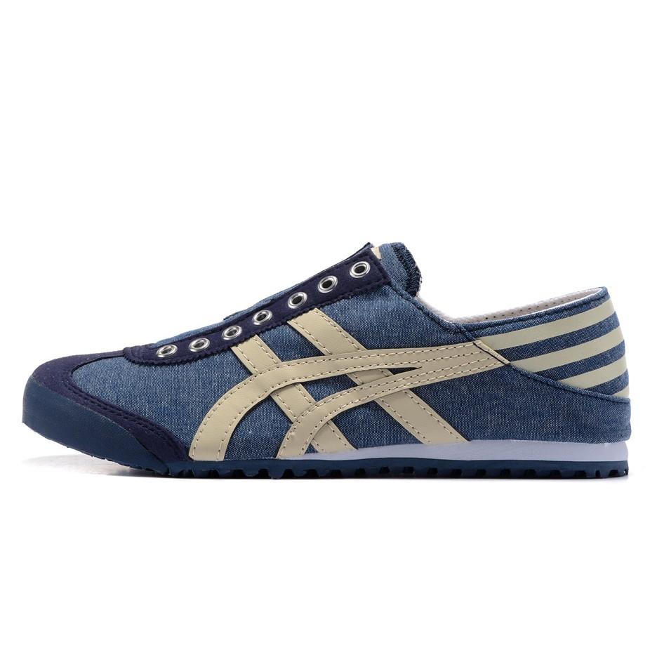 Original Asics tiger Canvas shoes flatshoes running shoes for men/women low top4