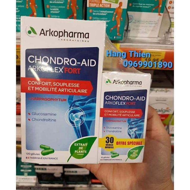 (Đủ bill) Set bổ xương khớp Arkopharma Chondro-AID Arkoflex Fort