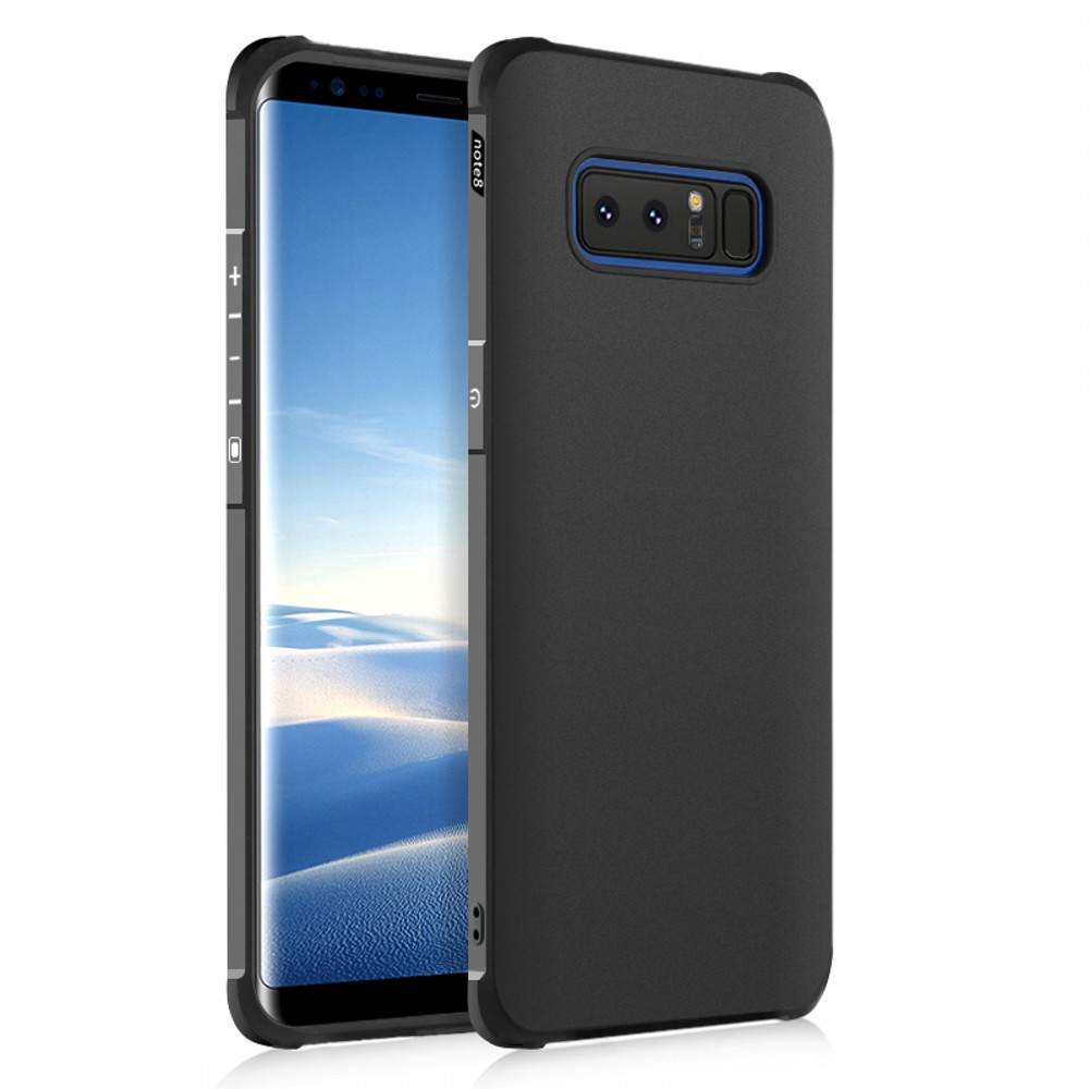 HIGHTECHELECTRIC Bakeey Protective Case For Samsung Galaxy Note 8 Air Cushion Corners Soft TPU Shockproof