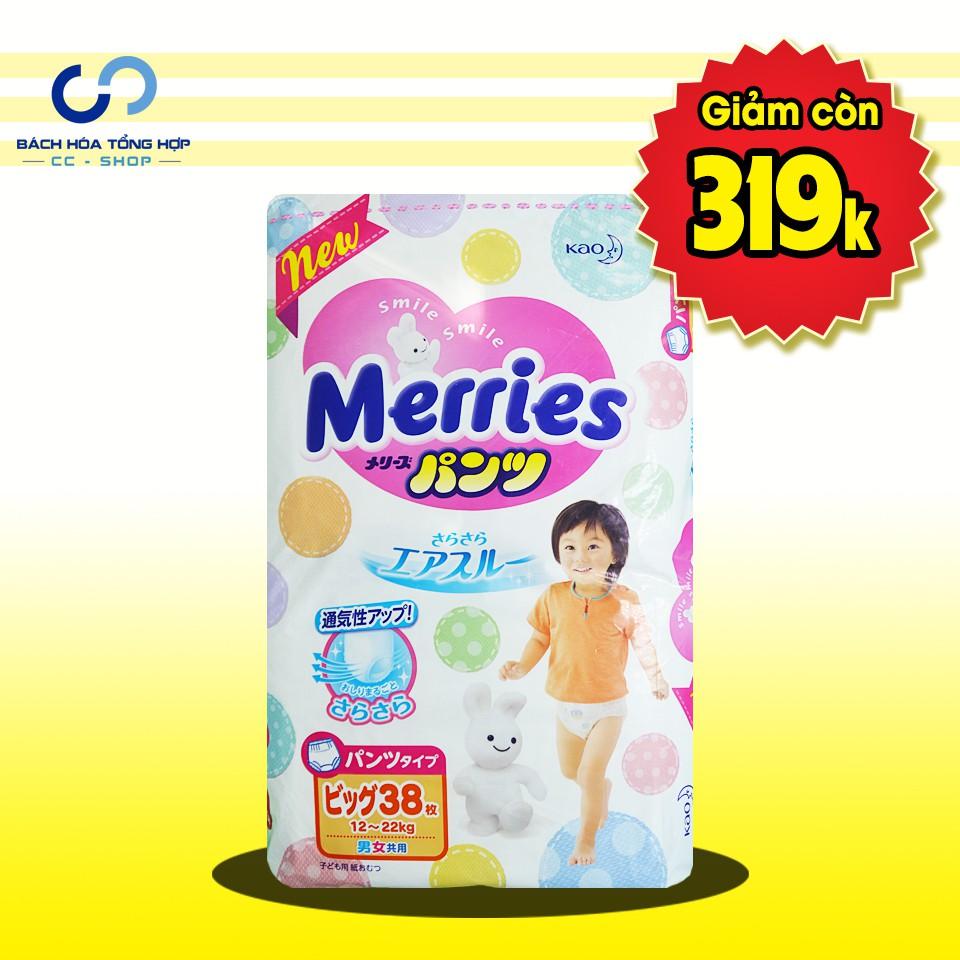 Bỉm - Tã quần Merries size XL50