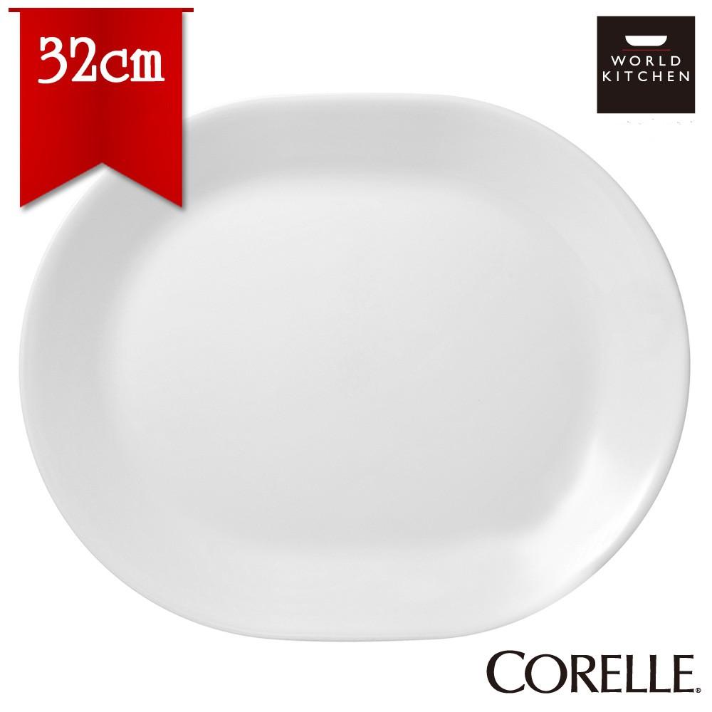 Đĩa Oval Thủy Tinh 32cm Winter Frost White Corelle 611-N-LP