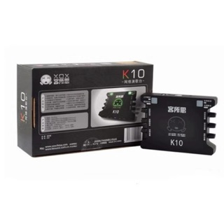 [Mã ELMSBC giảm 8% đơn 300K] Sound card âm thanh XOX K10 kèm dây lấy nhạc 3.5 bh 6 tháng