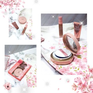 Set 3 Món Trang Điểm A.H.C Perfect Dual Cover Cushion Foundation Glam Special Gift Set