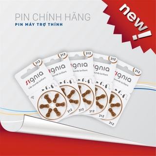 ( Mới ) Pin máy trợ thính Signia 312 thumbnail
