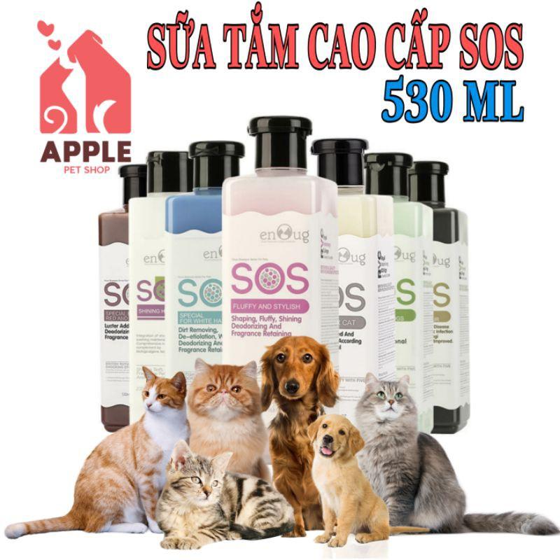 [Mã 77FMCGSALE1 giảm 10% đơn 250K] [S.O.S] [530ML] Sữa tắm cao cấp SOS hàng chính hãng
