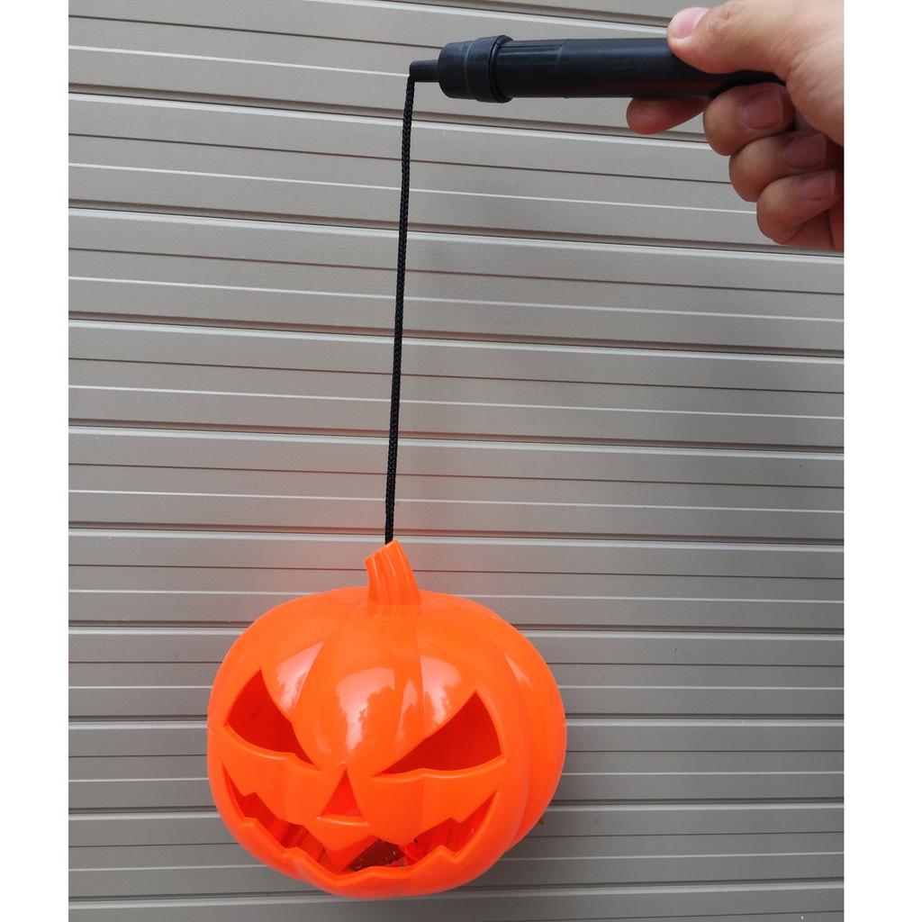 Đèn lồng bí ngô Halloween có nhạc đèn phát sáng