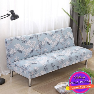 High-quality foldable sofa cover without armrests, luxurious design in multiple colors thumbnail