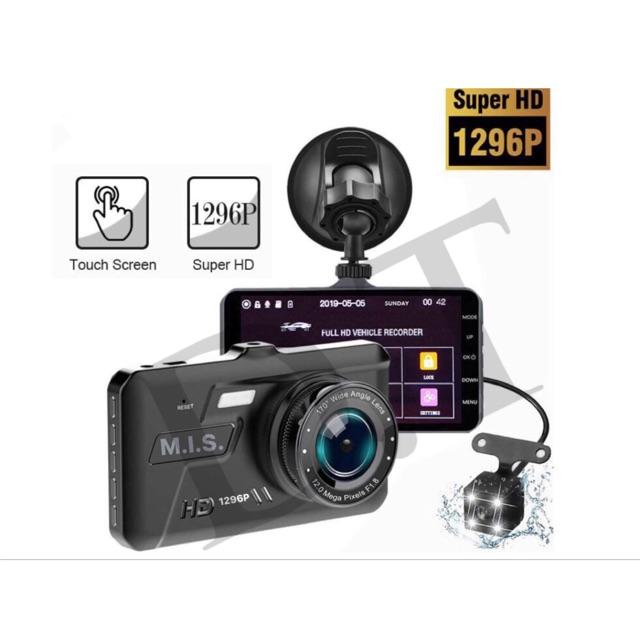 ของแท้ ชัดสุด ๆ กล้องติดรถยนต์หน้าหลัง จอ IPS ระบบสัมผัสแบบใหม่ -เทคโนโลยีช่วยให้การแสดงผลในที่มืดให้ชัดเจนยิ่งขึ้น-A6T