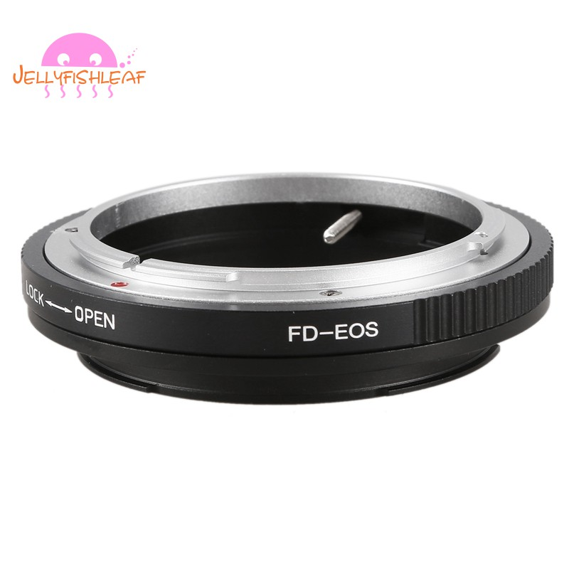 NEWYI FD Lens Canon EOS EF Body Mount Adapter Ring Converter Infinity Focus with Glass for Macroshot Photography