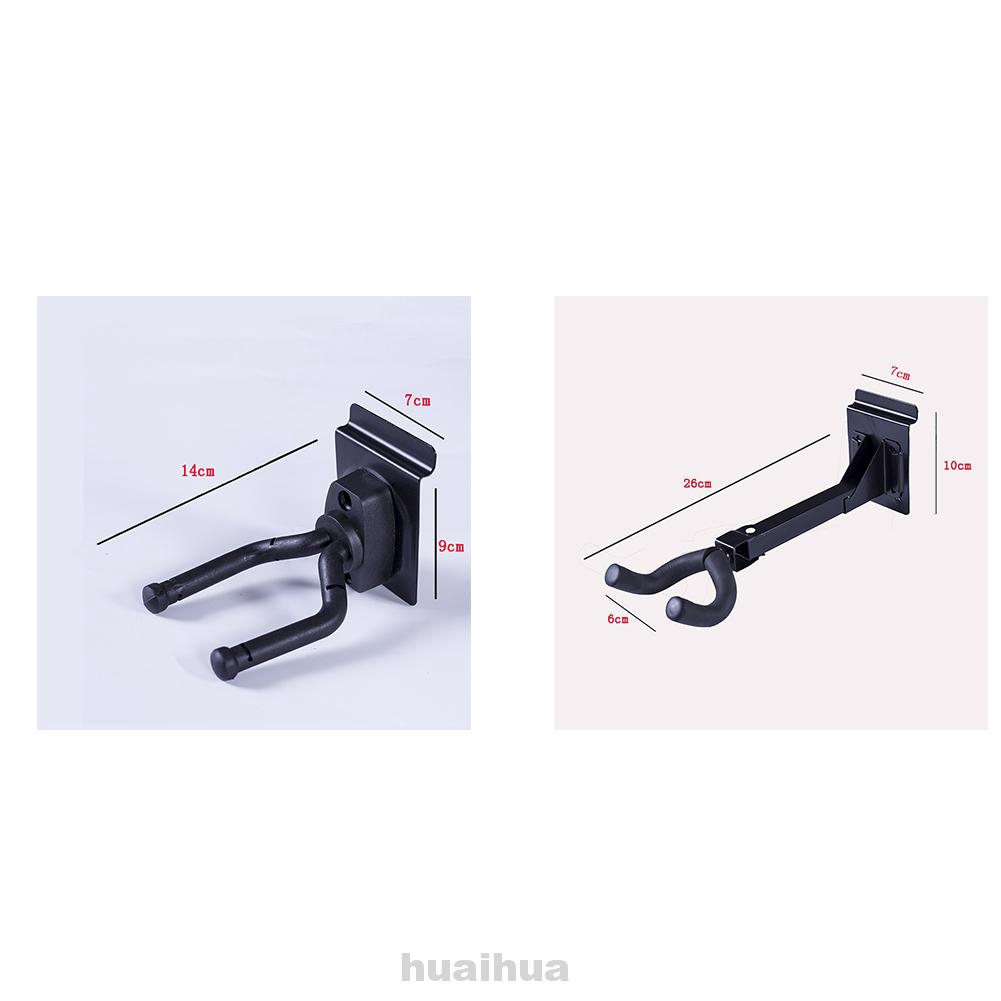 Storage Non-Slip Protection Easy Install Space Saving Metal Accessories Wall Mount Guitar Hanger