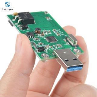 ✿♥▷ mSATA To USB3.0 Adapter Card Module Wi-Fi Adapter Mini PCIE mSATA SSD To USB 3.0 Flash Drive Converter