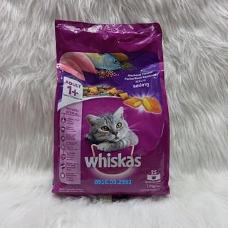 Thức ăn cho mèo trưởng thành Whiskas 1,2kg thumbnail