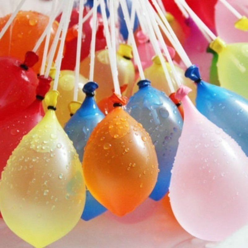 111 bong bòng bơm nước nhiều màu cho trẻ em