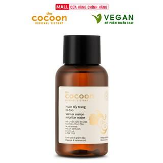 Nước tẩy trang bí đao cocoon 140ml thuần chay sạch bụi bẩn và dầu thừa da mụn thumbnail