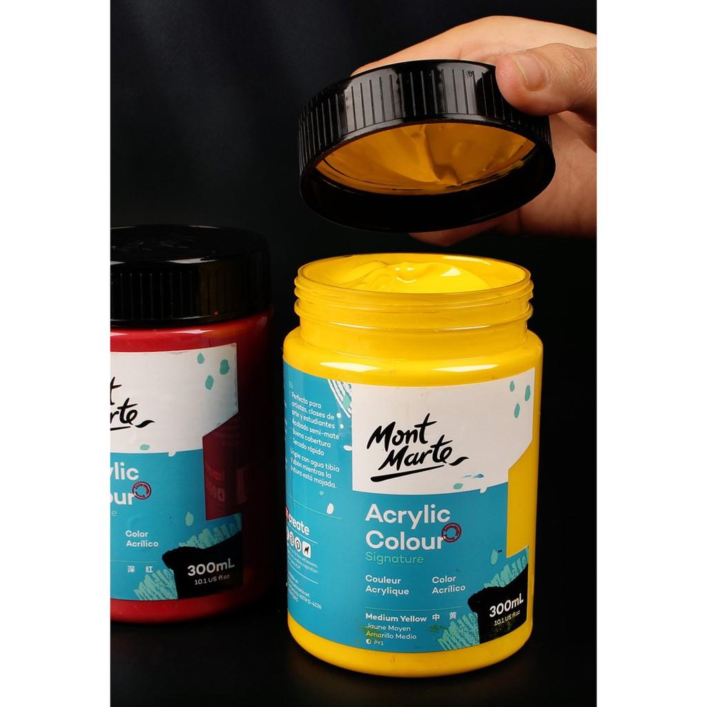 Màu acrylic Mont Marte 300ml, màu nước của Úc, màu vẽ trên nhiều chất liệu  giấy vẽ màu nước, cọ vẽ - Mực Các Loại | SachMoiNhat.com