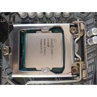 Cpu core i3 6100 3.7GHZ hình thật đang dùng, sạch sẽ, bóng loáng