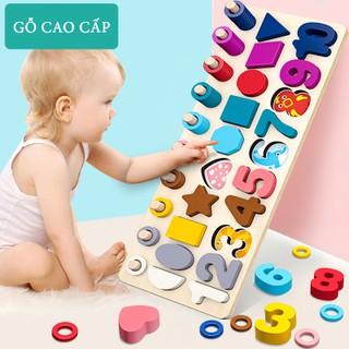 [Rẻ Vô Địch] Đồ chơi đếm số cho bé, Bộ đồ chơi giáo dục sớm phát triển trí não.