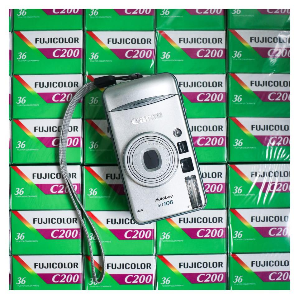 MÁY ẢNH FILM CANON AUTOBOY N105