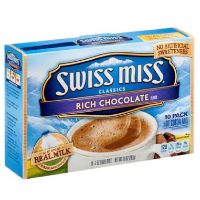 Bột Swiss Miss Classic rich chocolate hộp 283g(10 gói) - 2526816 , 1256536130 , 322_1256536130 , 140000 , Bot-Swiss-Miss-Classic-rich-chocolate-hop-283g10-goi-322_1256536130 , shopee.vn , Bột Swiss Miss Classic rich chocolate hộp 283g(10 gói)