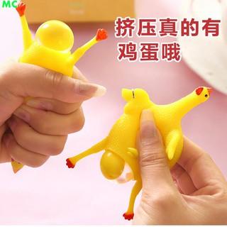 đồ chơi gà đẻ trứng bóp để giảm căng thẳng