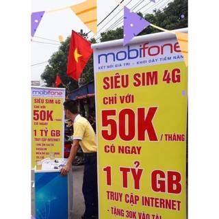 Sim 4G Mobifone [DTHN] MAX KHÔNG GIỚI HẠN DUNG LƯỢNG DATA DÙNG TOÀN QUỐC