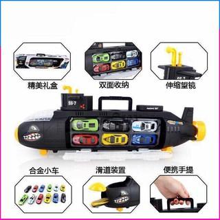 Tàu ngầm chở xe mô hình siêu hay đồ chơi tàu ngầm chở xe mô hình siêu hay cho bé