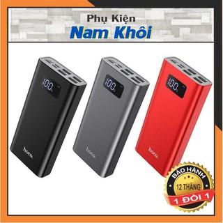 [CHÍNH HÃNG] Pin sạc dự phòng 20000mah Hoco J46A 4 cổng ra dùng cho điện thoại, Iphone, Ipad, Samsung, Oppo, Xiaomi