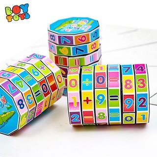 Yêu Thích[Mã TOYJAN hoàn 20K xu đơn 50K] Đồ chơi khối rubik toán học để bé vui học toán cùng ba mẹ mỗi ngày