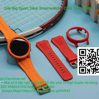 Dây Big Sport Sikai Smartwatch 20MM-22MM - Chốt Thông Minh