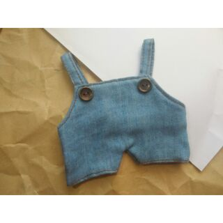 Yếm giả Jeans – doll 20cm