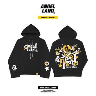 Áo hoodie Angel-Land chính hãng Star Sky- ĐEN Unisex thumbnail
