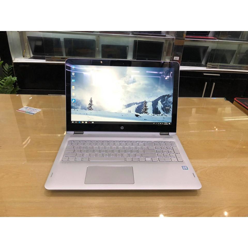Laptop 2in1 HP Envy 15 X360 (Core I7-8550U 8CPU, Ram 8GB, SSD 256GB, MH 15.6' FullHD IPS Touch) Cảm ứng gập xoa 360 độ
