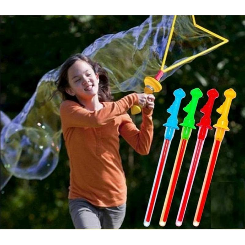 46cm Blowing Big Bubbles Stick Toys with Bubble Concentrate
