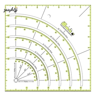 1 Piece of DIY Handmade Quilting Ruler Sewing Ruler for Sewing, Measuring, Painting, Crafting and Precision Cutting