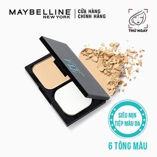 Phấn Nền Kiềm Dầu Chống Nắng Tiệp Mọi Tông Da SPF 32 PA Fit Me Skin-Fit Powder Foundation Maybelline New York 9g