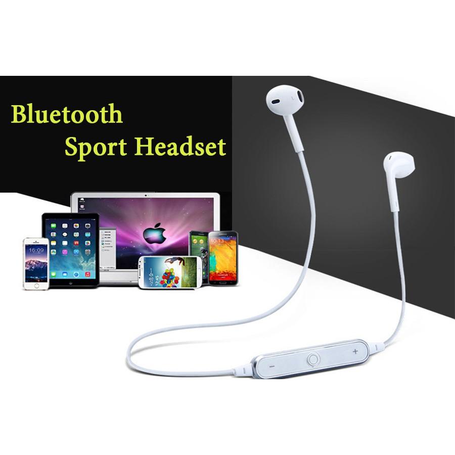 Tai nghe Bluetooth sports headset S6 thể thao nhét tai