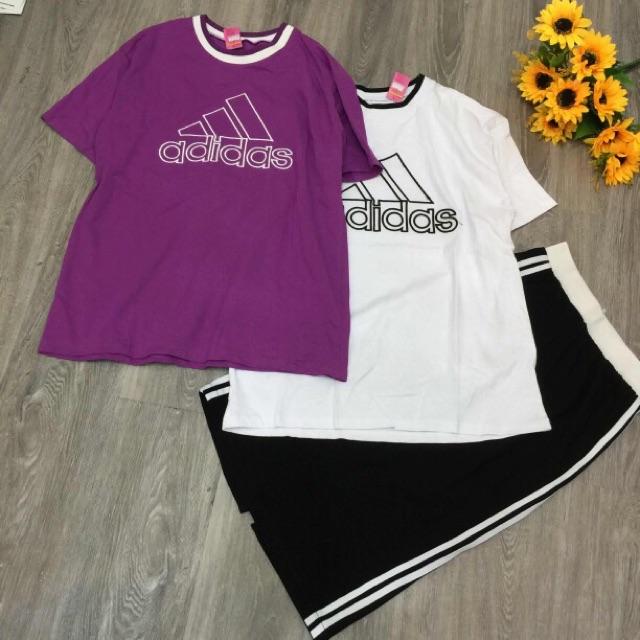 1020620666 - Set đầm thun in chữ adidas ( hình tự chup  )