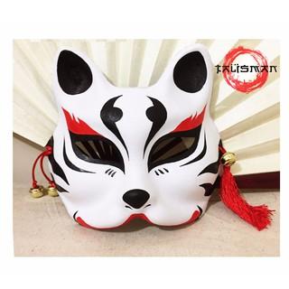 Mặt nạ cáo vẽ_27 (Mask fox-cosplay) mã IWM63