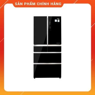 [ VẬN CHUYỂN MIỄN PHÍ KHU VỰC HÀ NỘI ] Tủ lạnh Aqua 6 cửa màu đen 553/515 lít AQR-IG686AM(GB) - [ Bmart247 ]