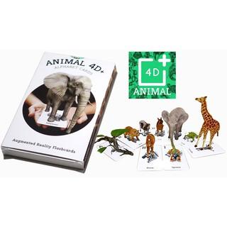 Bộ hình thú 4D sống động - 31 động vật phong phú - Animal 4D thumbnail