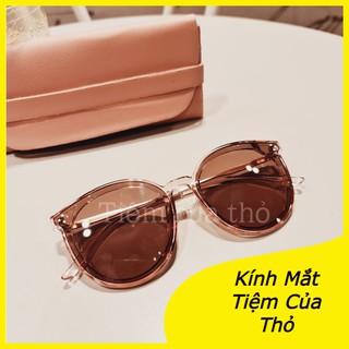 Kính Mát Nữ From Tròn thời trang Tiệm Của Thỏ phù hợp mọi from mặt -5041.